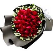 33朵红玫瑰...
