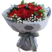 红玫瑰11枝...