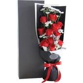 卡罗拉红玫瑰11枝,礼盒...